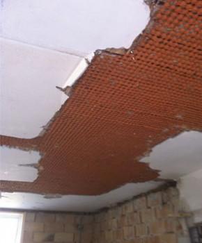 Spartling af loft